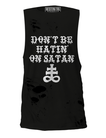 Dont Be Hatin' On Satan Black Unisex