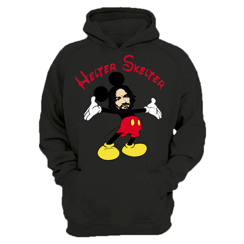 Helter Skelter Mickey Manson Embroidered Hooded Sweater