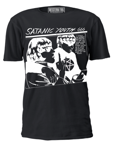Satanic Youth Vintage T-shirt