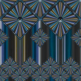 Metallic Diamonds and Stripes 5 Sample View