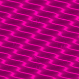 Neon Wavy Lines Pink Dress - Stradling Designs