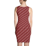Ribbons Dress Red - Stradling Designs