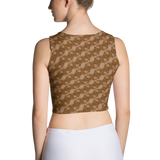 Ribbons Crop Top Orange - Stradling Designs