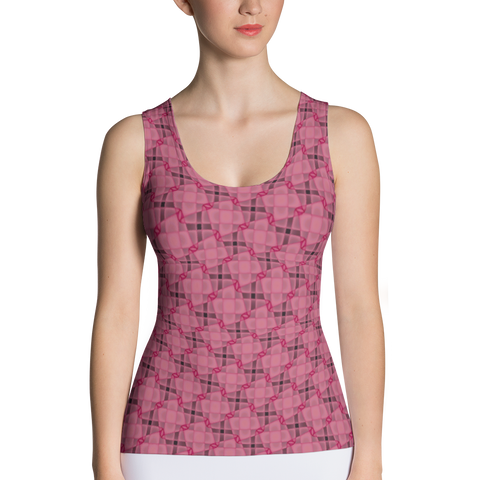 Steel Tank Top Red - Stradling Designs