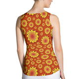 Geometric Sun 01 All-over Tank Top - Stradling Designs