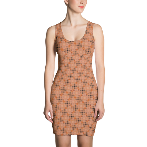 Steel Dress Orange - Stradling Designs