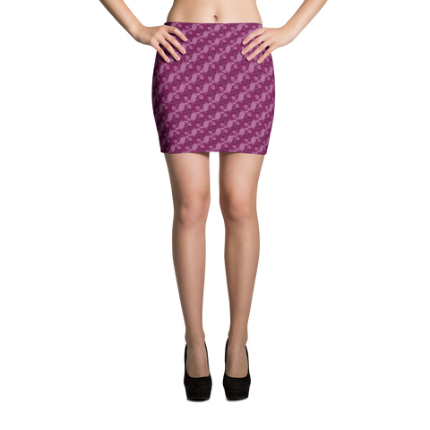 Ribbons Mini Skirt Pink - Stradling Designs