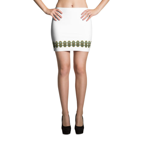 Cloth Lace Butterfly Effect-A Mini Skirt Front View
