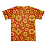 Geometric Sun 01 All-over T-shirt (unisex) - Stradling Designs