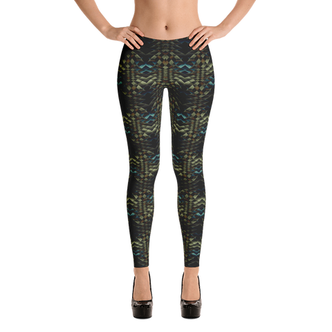 Snakeskin Leggings - Stradling Designs