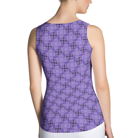 Steel Tank Top Purple - Stradling Designs