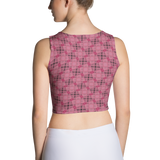 Steel Crop Top Red - Stradling Designs