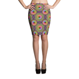 Time Pencil Skirt - Stradling Designs