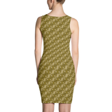 Ribbons Dress Gold - Stradling Designs