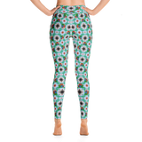 Macaw 4-way Pattern Yoga Leggings