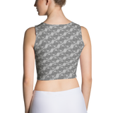 Ribbons Crop Top Silver - Stradling Designs