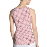 Steel Tank Top Pink - Stradling Designs