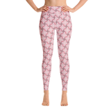 Steel Yoga Leggings Pink - Stradling Designs