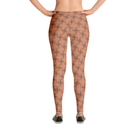 Steel Leggings Orange