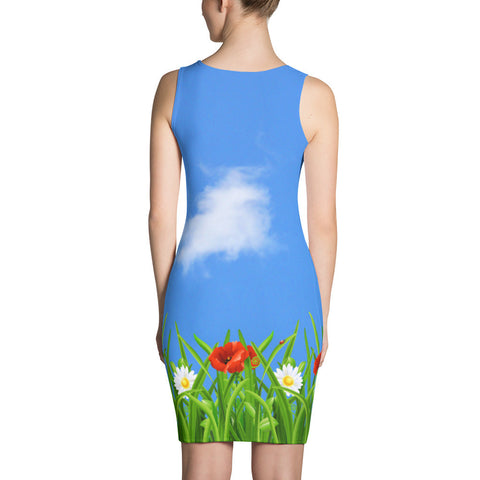 Poppies-Daisies Dress - Stradling Designs
