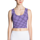 Steel Crop Top Purple - Stradling Designs