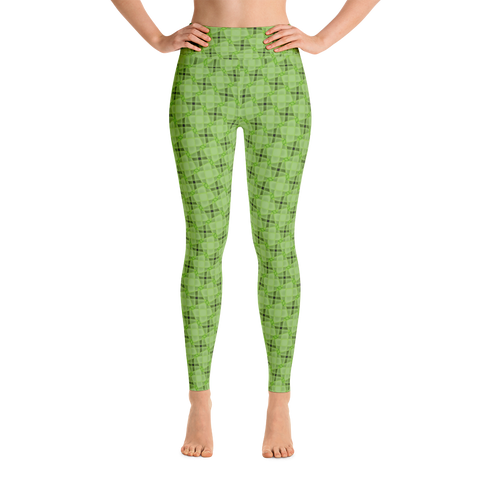 Steel Yoga Leggings Green