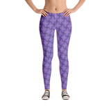 Steel Leggings Purple - Stradling Designs