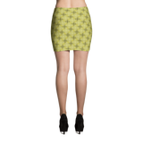 Steel Mini Skirt Yellow - Stradling Designs