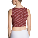 Ribbons Crop Top Red - Stradling Designs