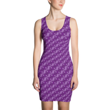 Ribbons Dress Purple