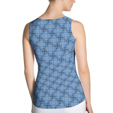 Steel Tank Top Blue - Stradling Designs