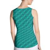 Ribbons Tank Top Turquoise