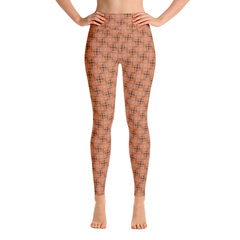 Steel Yoga Leggings Orange