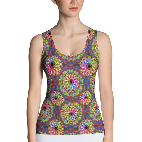 Time Tank Top - Stradling Designs