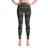 Snakeskin Yoga Leggings - Stradling Designs