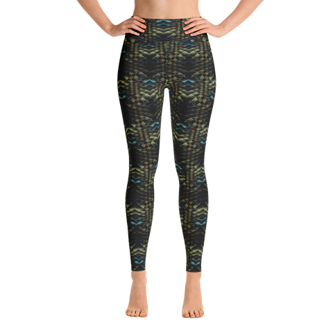 Snakeskin Yoga Leggings