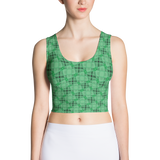 Steel Crop Top Teal