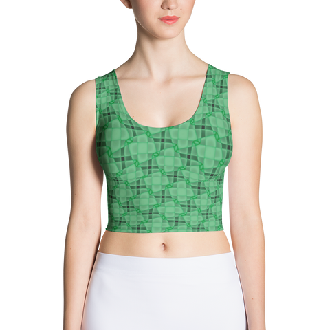 Steel Crop Top Teal - Stradling Designs
