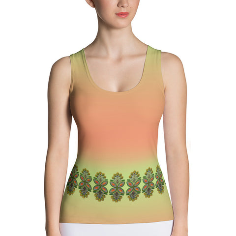 Cloth Lace Butterfly Effect-E Tank Top - Stradling Designs