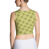 Steel Crop Top Yellow - Stradling Designs