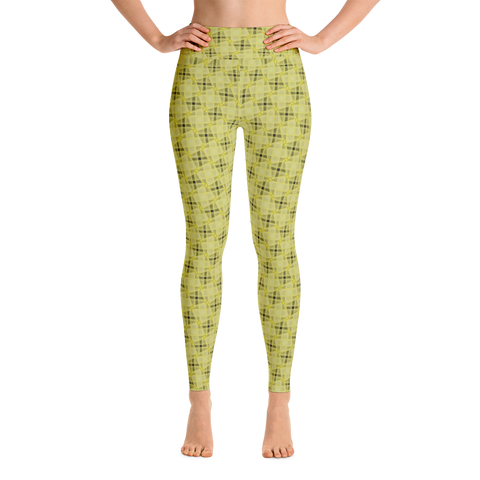 Steel Yoga Leggings Yellow