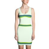 2017 Greenery Dress - Stradling Designs