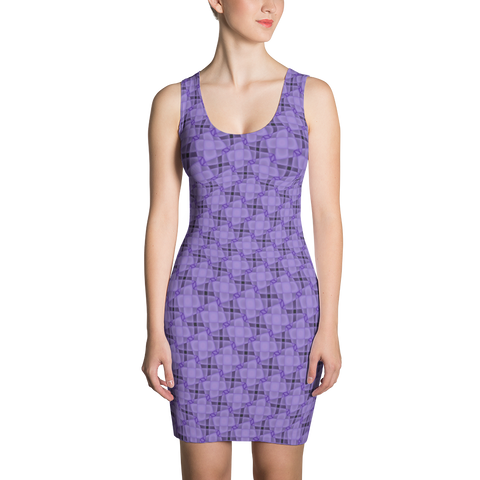 Steel Dress Purple - Stradling Designs
