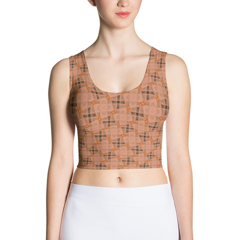 Steel Crop Top Orange - Stradling Designs