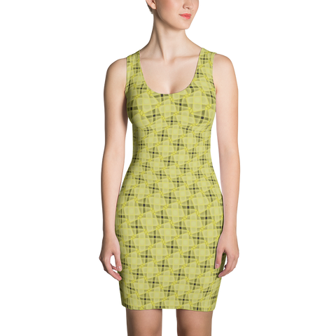 Steel Dress Yellow - Stradling Designs