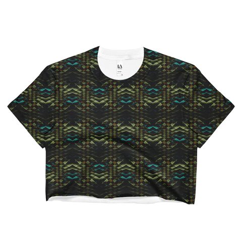 Snakeskin Crop Top - Stradling Designs