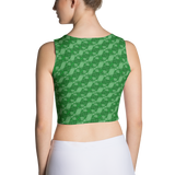 Ribbons Crop Top Green