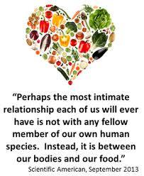 A healthy relationship with food is everything. By Martin Silva