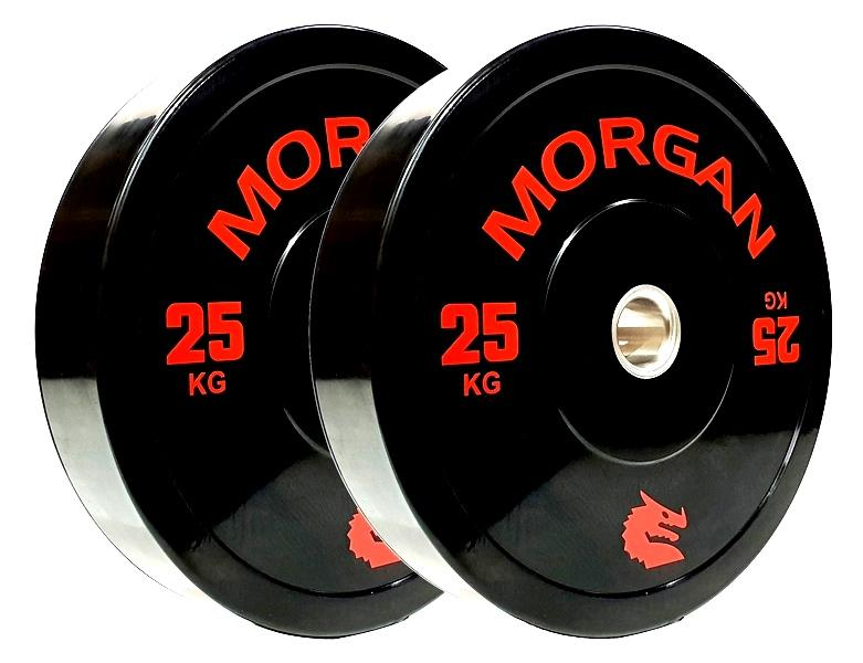 MORGAN 25KG OLYMPIC BUMPER PLATES  (PAIR)