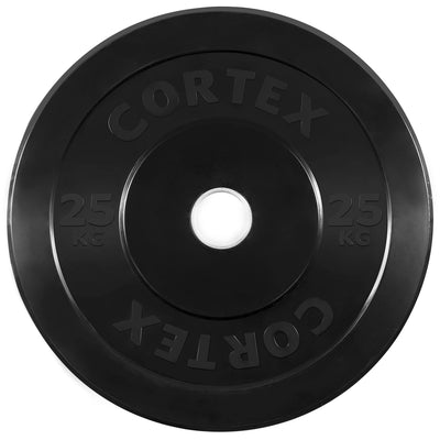 25KG Black Bumper Plate ( Arriving in June Pre Purchase NOW it will Run out before it gets here)
